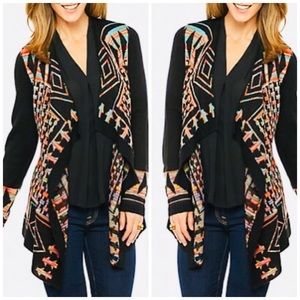 Sweaters - Multi colored cardigan